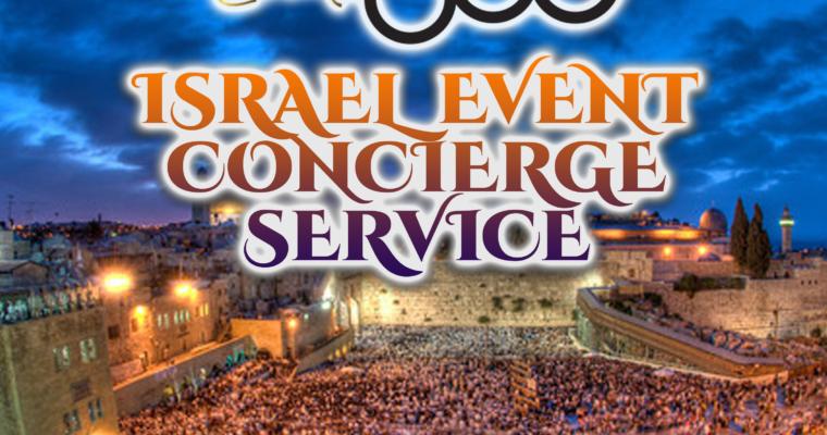 New…Israel Concierge Service